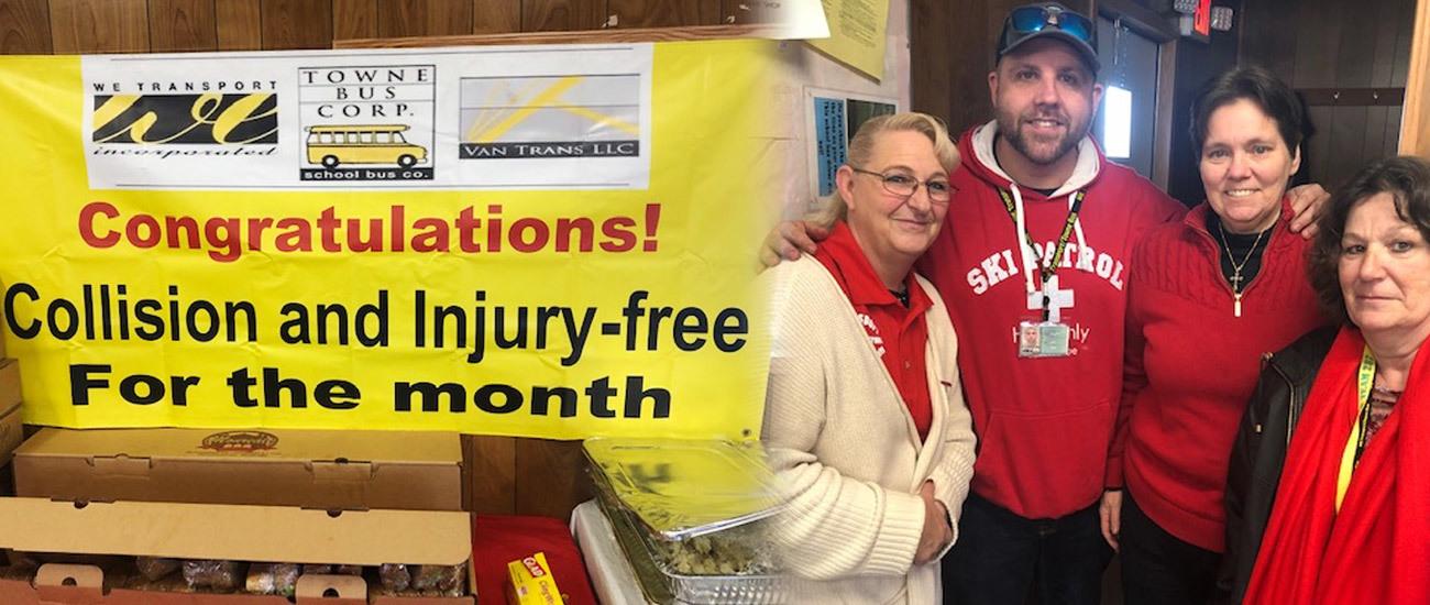 Bay Shore Yard Collision Injury Free February 2020 Banner