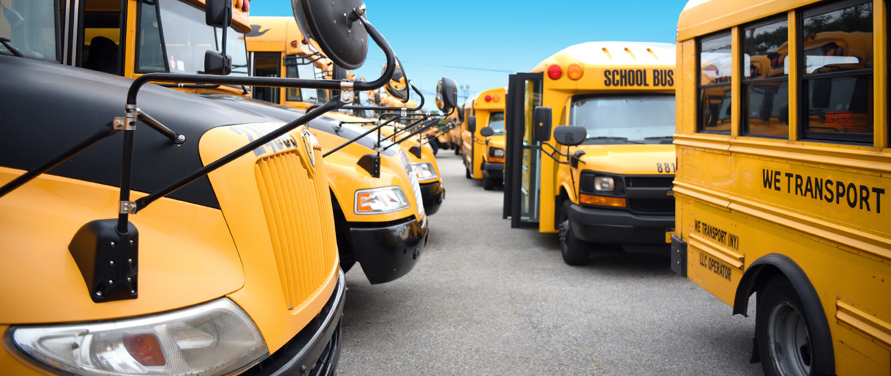 We Transport Nesconset Smithtown Bus Yard Depot